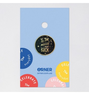 Значок Orner Store To the moon and back