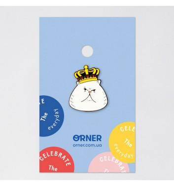 Значок Orner Store Кот в короне
