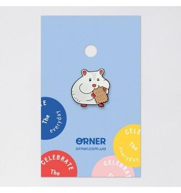 Значок Orner Store Хом'як з печивом