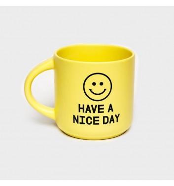 Чашка желтая Orner Store Have a nice day