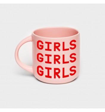 Чашка розовая Orner Store Girls