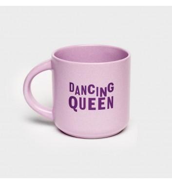 Чашка фиолетовая Orner Store Dancing queen