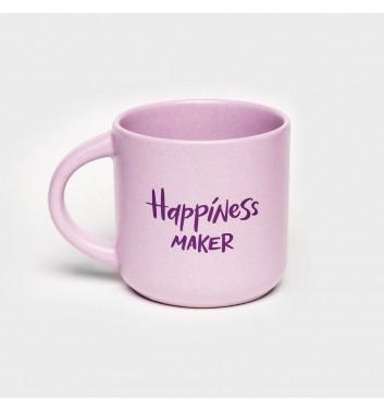 Чашка фиолетовая Orner Store Happiness maker