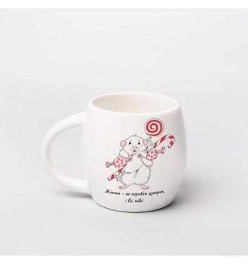 Чашка Orner Store Святкове мишеня