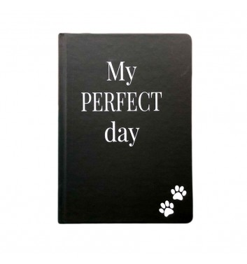 """Щоденник Lifeflux """"My perfect day"""" Хвіст та Вуса Black"""