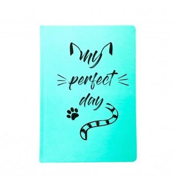 """Дневник Lifeflux """"My perfect day"""" Хвост и Усы Mint"""