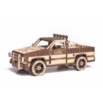 Механический 3D пазл Wood Trick Пикап WT-1500