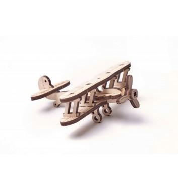 Механічний 3D пазл Wood Trick Вудік Міні Літак