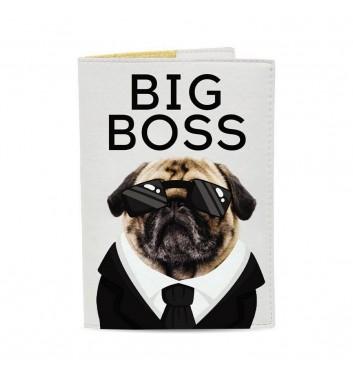Обкладинка на паспорт Just cover Big boss