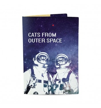 Обкладинка на паспорт Just cover Cats from outer space