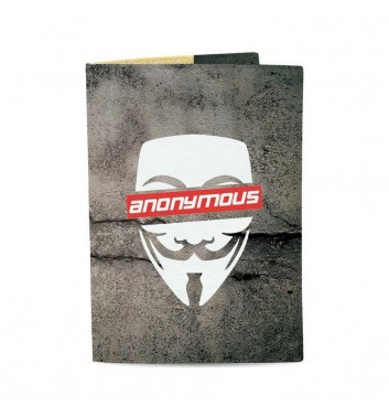 Обкладинка на паспорт Just cover Anonymous