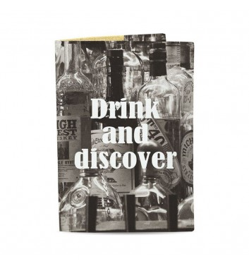 Обложка на паспорт Just cover Drink and discover