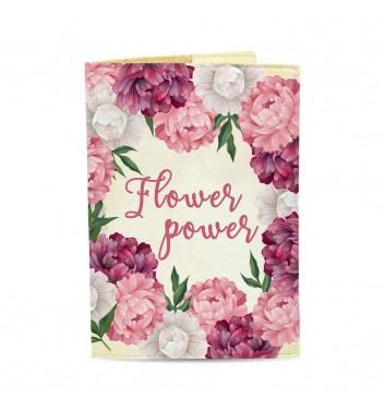 Обкладинка на паспорт Just cover Flower Power