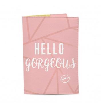 Обкладинка на паспорт Just cover Hello gorgeous