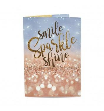 Обкладинка на паспорт Just cover Smile Sparkle Shine