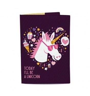 Обложка на паспорт Just cover Unicorn of today
