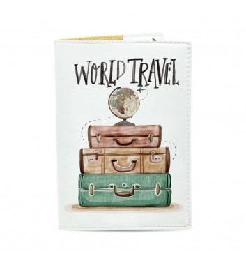 Обкладинка на паспорт Just cover World travel