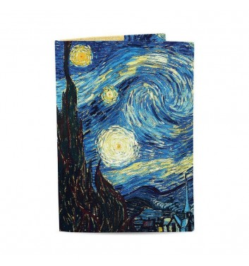 Обложка на паспорт Just cover Ван Гог