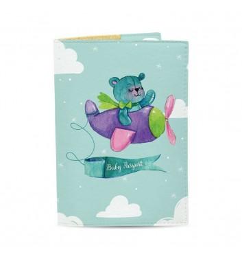 Обкладинка на паспорт Just cover Дитячий ведмедик