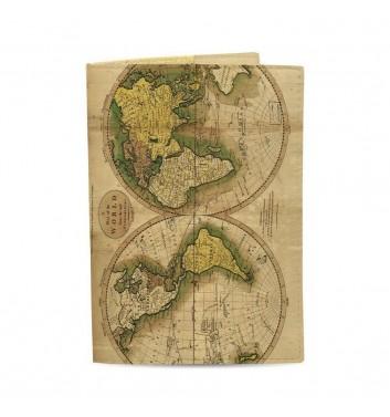 Обложка на паспорт Just cover Карта мира