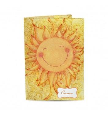 Обложка на паспорт Just cover Солнышко