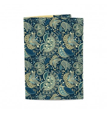 Обкладинка на паспорт Just cover Візерунки сині