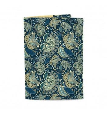 Обложка на паспорт Just cover Узоры синие
