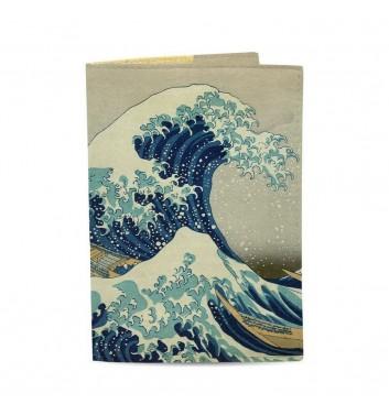 Обкладинка на паспорт Just cover Японська хвиля