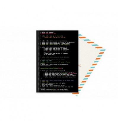 Листівка Mirabella postcards I love you coder