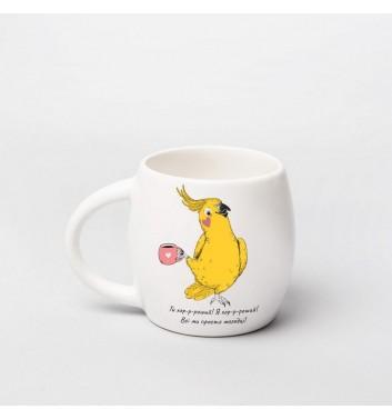Чашка Orner Store Попугай