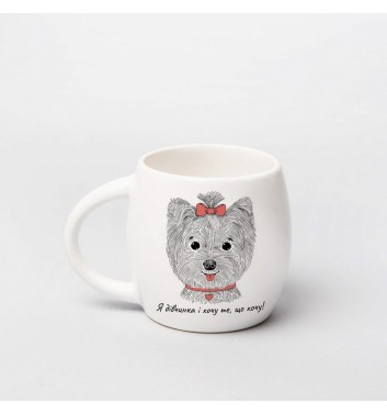 Чашка Orner Store Леді Мопс