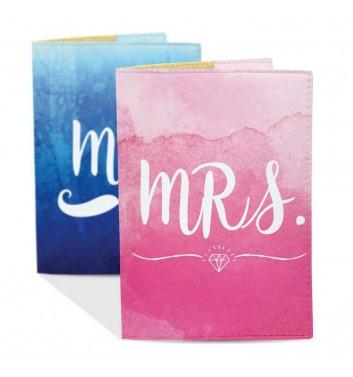 Набір обкладинок на паспорт Just cover Mr&Mrs
