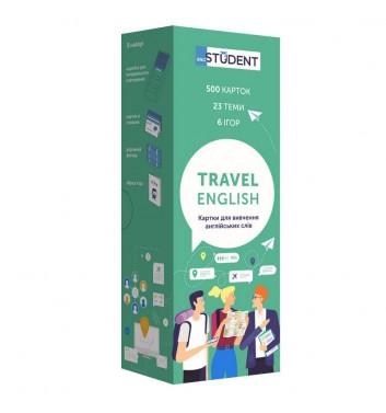 Картки з англійської мови Eng student Англійська для подорожей (500)
