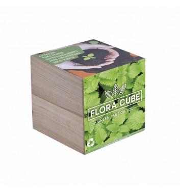 Набор для выращивания Flora Cube Мелисса