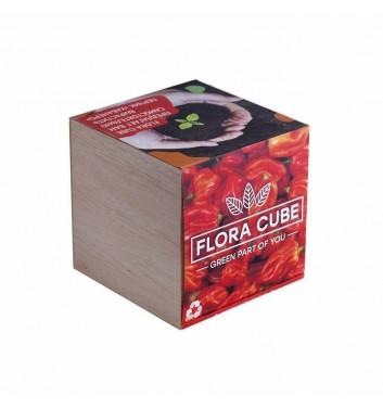 Набор для выращивания Flora Cube Перець Хабанеро