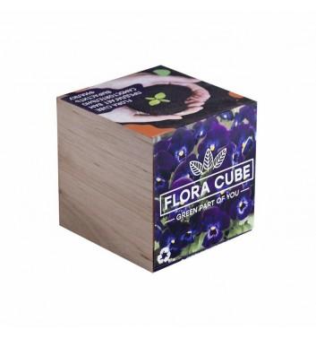 Набір для вирощування Flora Cube Фіалка