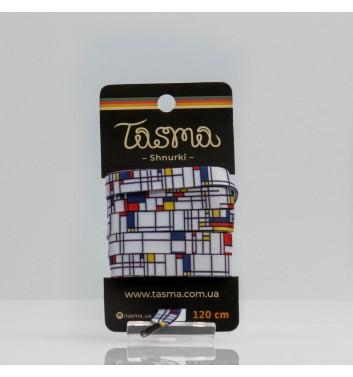 Шнурки Tasma Піт Мондріан «Композиція з червоним, синім і жовтим»