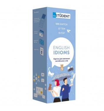 Карточки по английскому языку Eng student Идиомы (500)