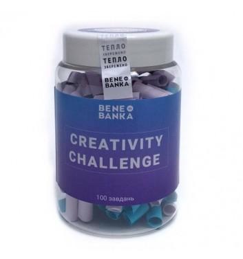 Баночка з побажаннями Bene Banka Creativity challenge