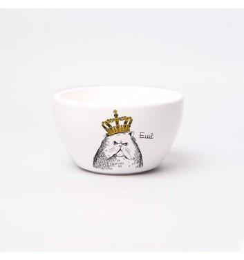 Тарелка глубокая Orner Store Кот в короне