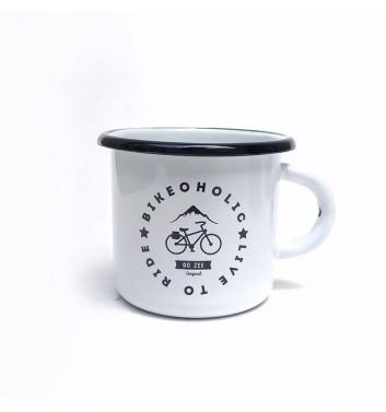 Чашка металева Gozee Bikeoholic