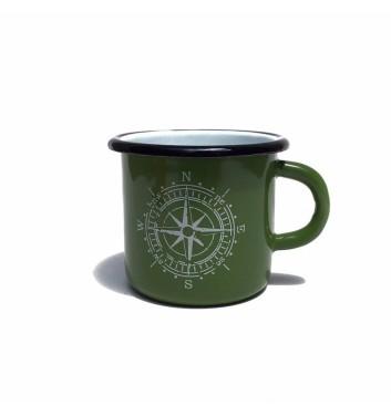 Чашка металева Gozee Компас Green