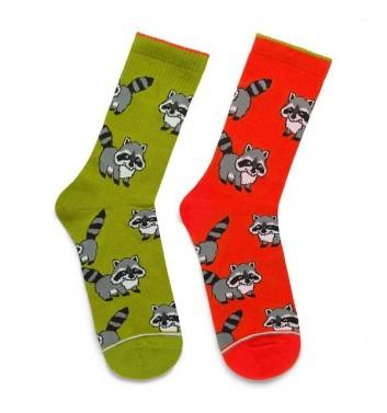 Шкарпетки Ded noskar Єноти Кольорові