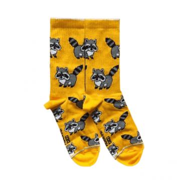 Шкарпетки Ded noskar Єноти Оранжеві