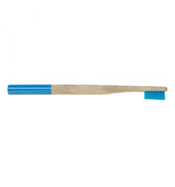 Бамбуковая зубная щетка Leaf Dark Blue