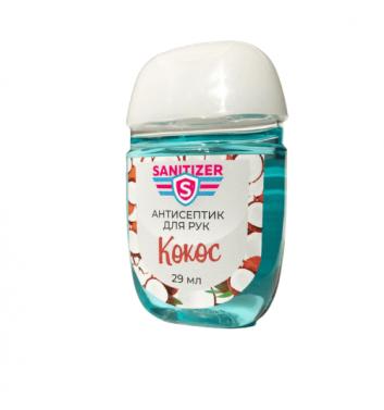 Антибактериальный гель Sanitizer Кокос