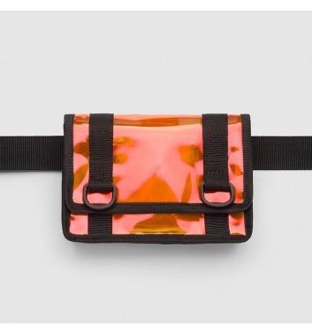 Клатч на пояс з оранжевим відливом Radiocat