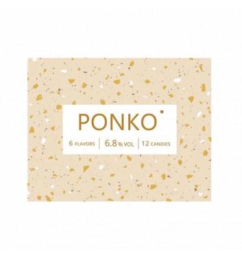 Алкогольні цукерки Ponko sweets Асорті 12 цукерок