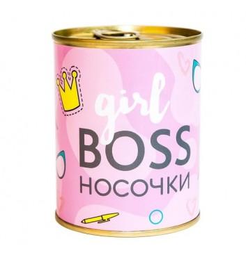 Консервированные носки Papa Design Girl boss