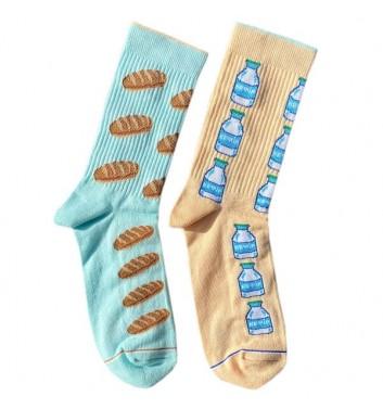 Шкарпетки Ded noskar Батон та кефір